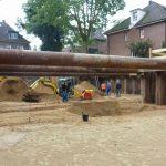 Muellenhoffweg - Fudamentarbeiten