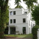 Parkstraße Hamburg - Einfahrt