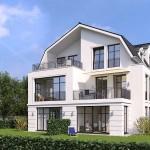 Rilkeweg - 3D-Modell Garten