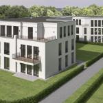 Albertiweg - 3D - Gebäude von oben