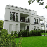 Holztwiete 2a, Hamburg-Othmarschen – Seitenansicht und Tiefgarage