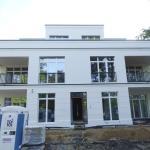 Holzwiete - Fertige Frontfassade