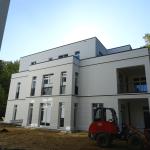 Holzwiete - Fertige Fassade